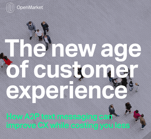 A2P Messaging is the future in CX